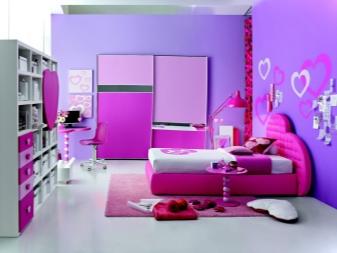 Camere da letto per ragazze adolescenti (89 foto): design ...