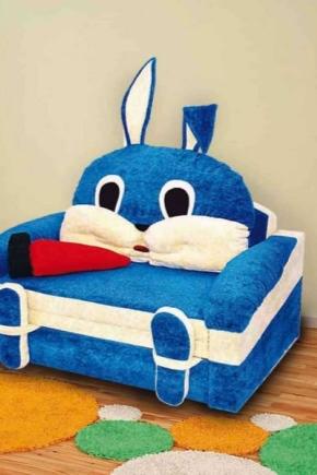 Παιδικό καναπέ-κρεβάτι με πλευρές