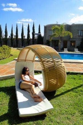 كيف تصنع كرسي للاستلقاء بيديك؟