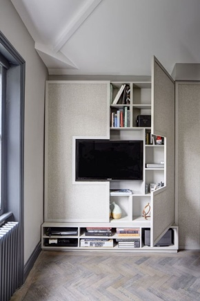 Parete nella camera da letto (43 foto): armadio a muro ad ...