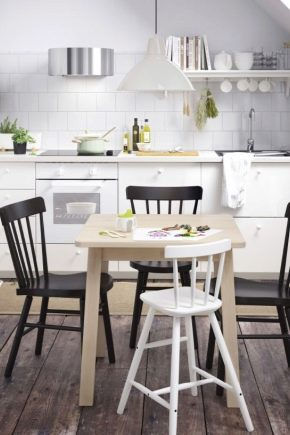 Sillas para cocina ikea: modelos de cocina abatibles de ...