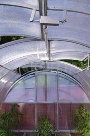 Estufas de telhado: características e tipos