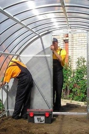 Production options for polycarbonate greenhouses