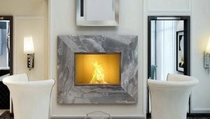 Decorative fireplace - create home comfort