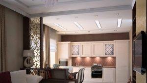 Reka bentuk ruang tamu dapur