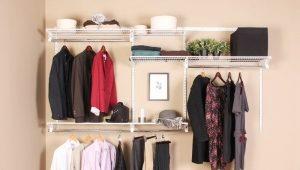 Garderobes sistēmas Larvij