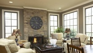 How to choose a clock on the fireplace