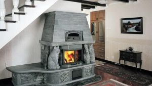 Fireplace stove for home heating