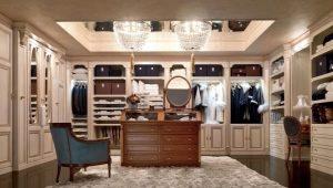 Llenado de armarios y vestidores.
