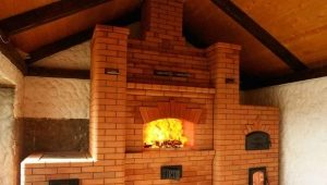 Fireplace stove for a country house