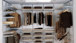 Wardrobe shelves
