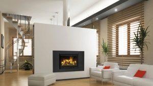 Soluciones de estilo para sala de estar con chimenea.