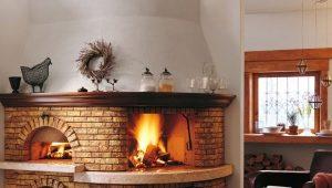 Corner fireplace stove