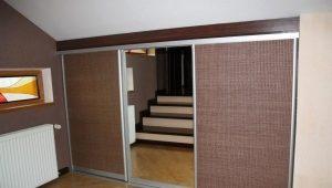 Eingebaute Garderobennische