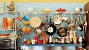 Αξεσουάρ κουζίνας σε ράγες και συνημμένα