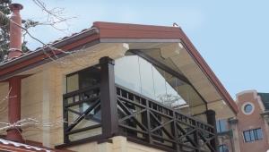 Balkon in einem Privathaus