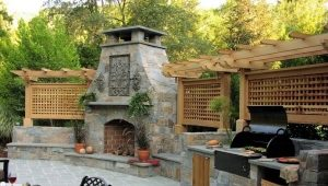 Caminetto per barbecue