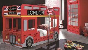 Παιδικό κρεβάτι-λεωφορείο