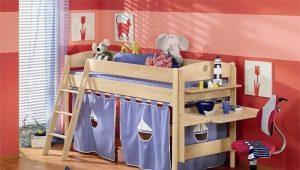 Παιδικό κρεβάτι για αγόρι ηλικίας 5 ετών