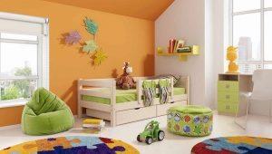 Κρεβάτι μωρού με συρτάρια και πλευρά