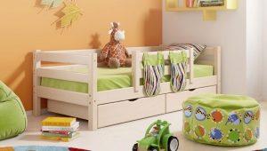 Κρεβατάκι με συρτάρια
