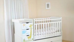 Παιδικό μετασχηματιστικό κρεβάτι