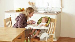 Barnstol för matning