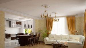 Σχεδιασμός κουζίνας-σαλόνι
