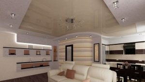 Design kitchen-living area of ​​25 square meters. m