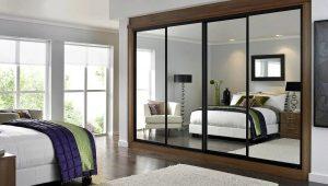 Design of wardrobes in the bedroom