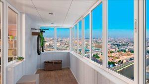 Kalt verglaste Balkone