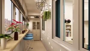 Balkon Dekoration Design-Ideen