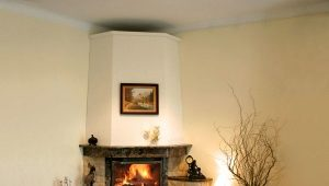 How to make a fireplace out of the stove