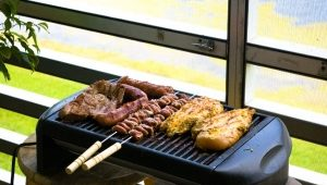 How to make a grill on the balcony