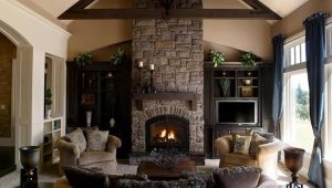 Stone fireplaces - a tribute to tradition