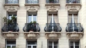 Balkone aus Schmiedeeisen