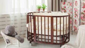 Στρογγυλά κρεβάτια για νεογέννητα
