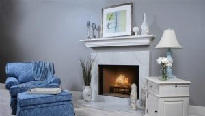 Marble portals for fireplaces