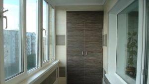 Balcony decoration with MDF-panels