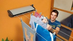 Clothes dryer to the balcony