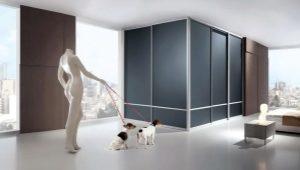 Corner built-in wardrobe