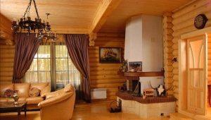Installare una stufa in una casa di legno