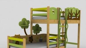 Παιδικό κουκέτα Ikea