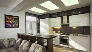 Bar rack nel design degli interni del soggiorno