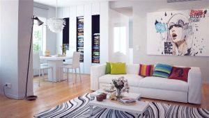 Arredamento del soggiorno: originali idee di trasformazione degli interni