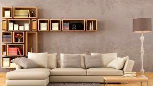 Diseño del salón: selección y colocación del sofá.
