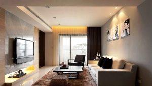 Design della sala: le sottigliezze della stanza con una superficie di 20 metri quadrati. m