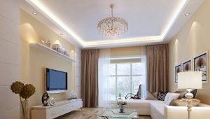 Dzīvojamā istaba smilškrāsas toņos: svarīgas detaļas