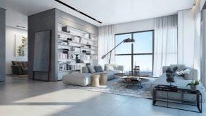 Dzīvojamā istaba spilgtas krāsas: stilīga interjera nianses