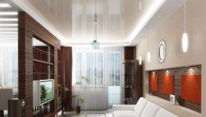 Salón interior en Jrushchov: diseño elegante de la habitación